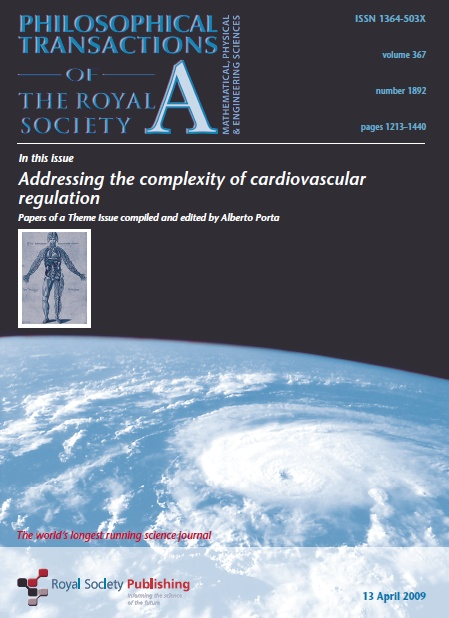Special Issue: Addressing the complexity of cardiovascular regulation